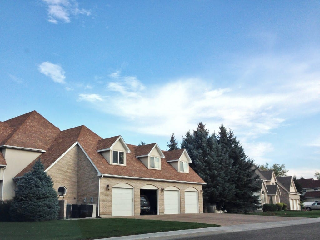 Una tipica casa americana