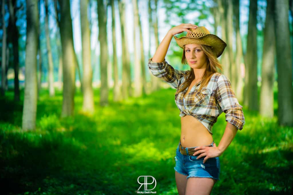 A Cowgirl in the Woods
