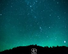 Stars and Aurora at Salmon River