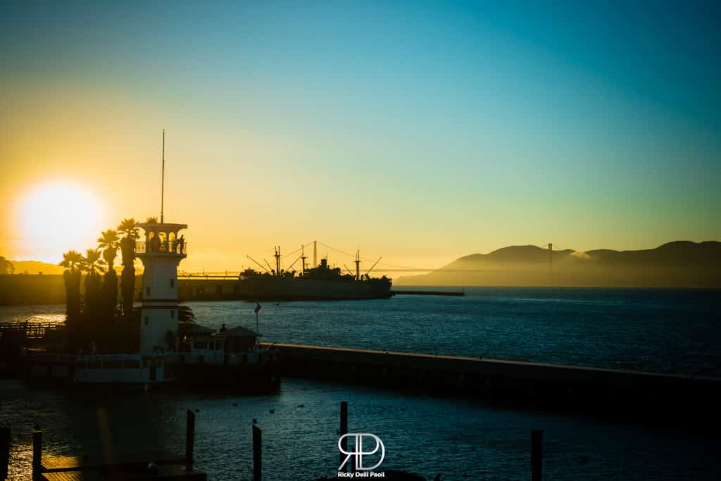 Fisherman's Wharf during the Sunset