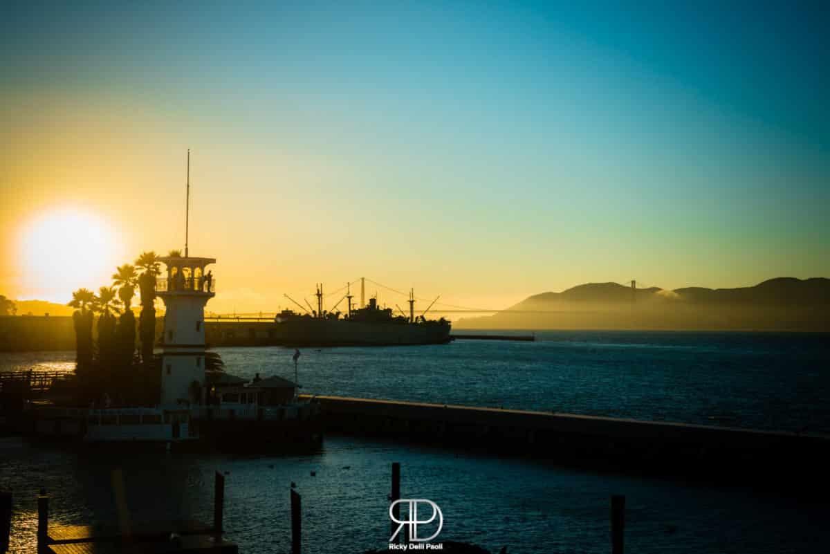 Fisherman's Wharf during the Sunset